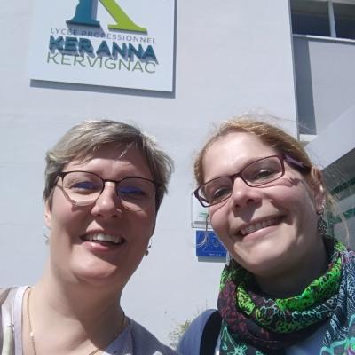 Echange Erasmus - Lycée Ker Anna de Kervignac en Bretagne